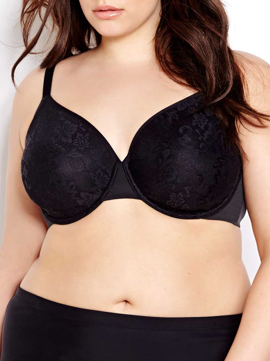 Smooth Operator Bra - Déesse Collection.Black.44DDD