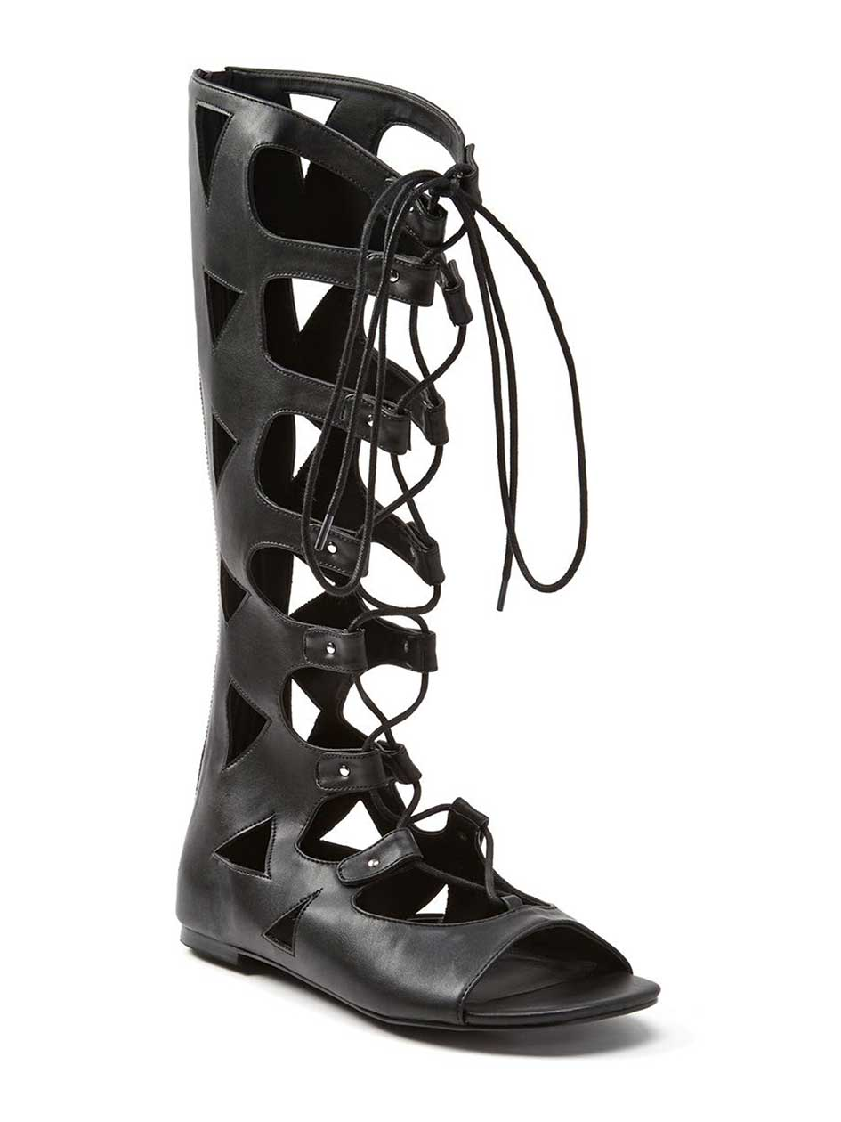 Mirelle High Lace-up Gladiator Sandal