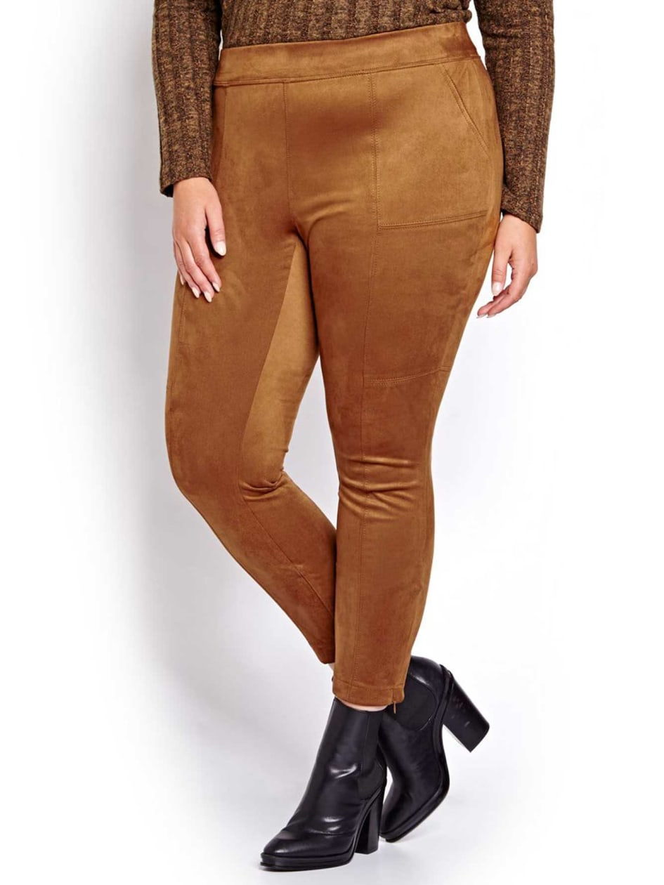 L&L Faux Suede Leggings