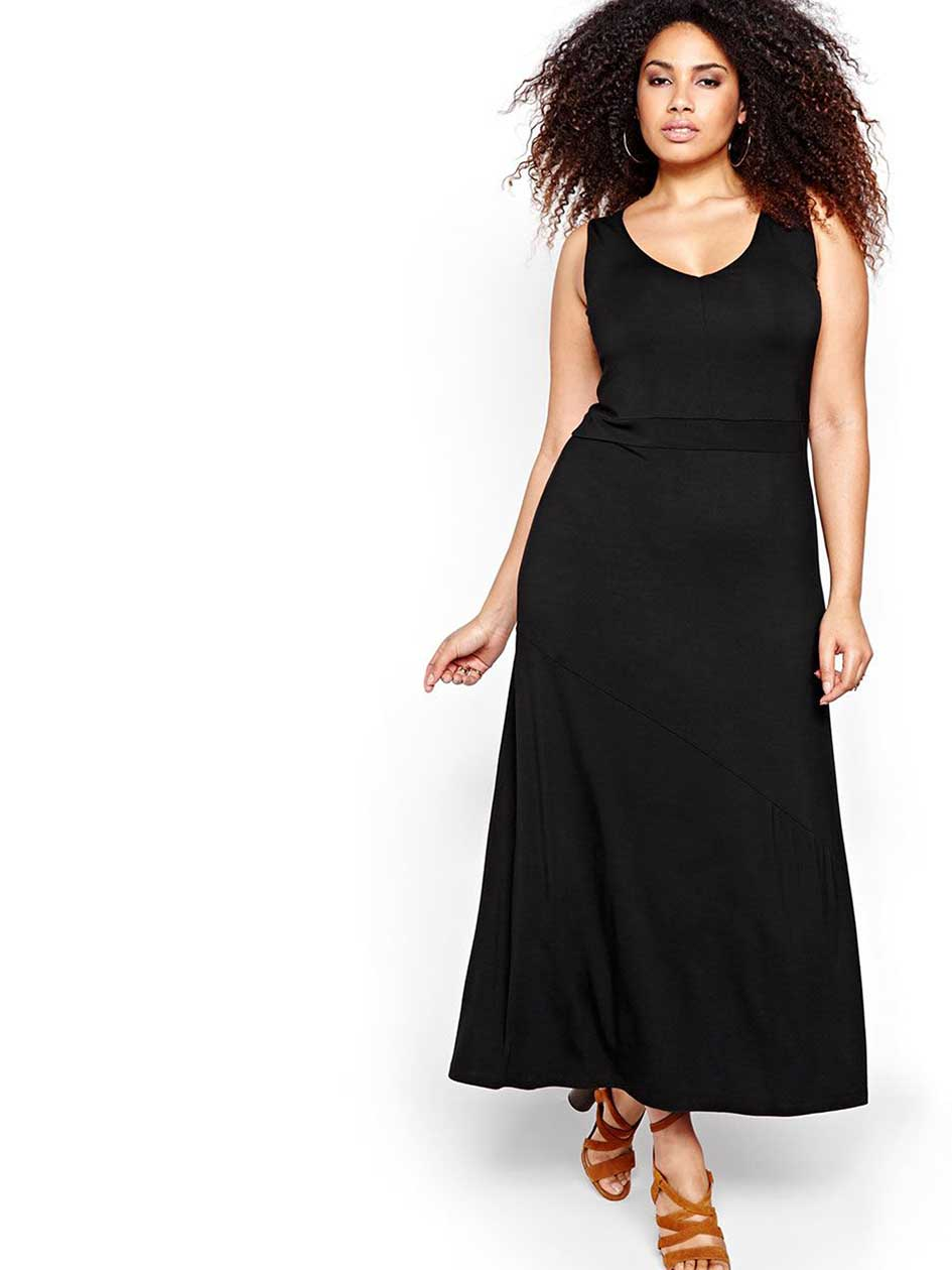 Michel Studio Sleeveless Maxi Dress