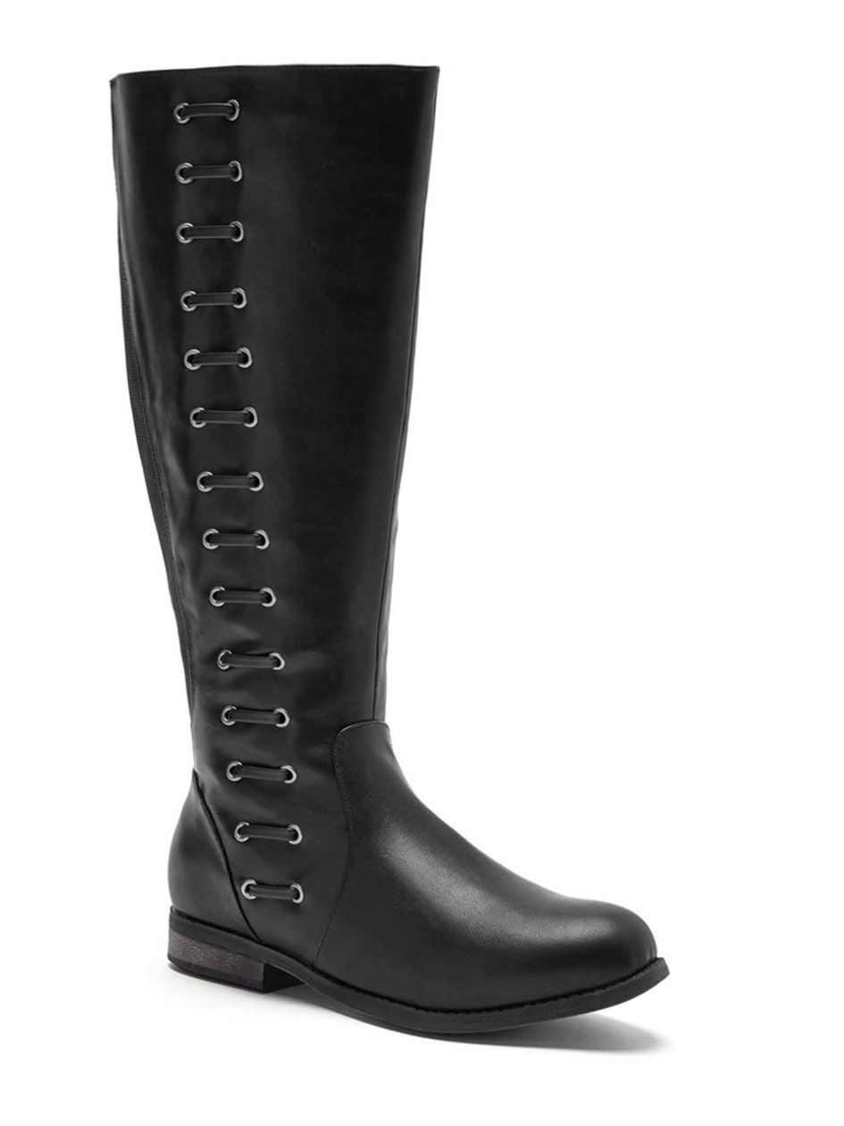Kay Braided High Boot