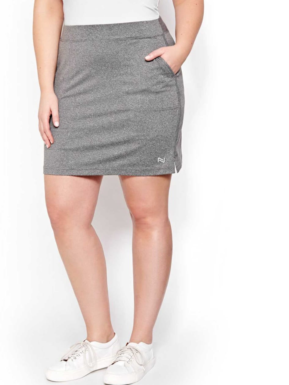 Nola Golf Gray A-line Skort
