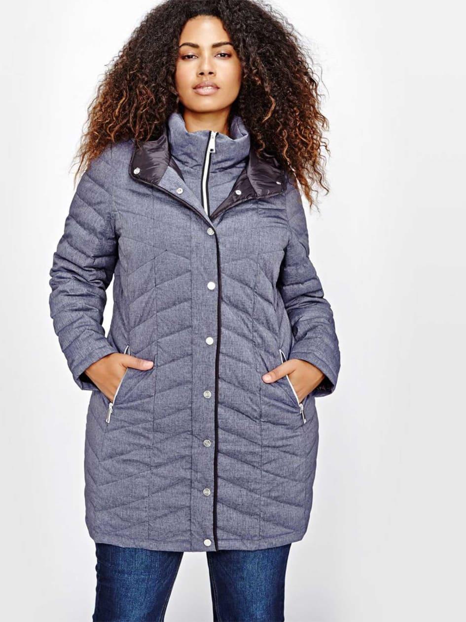 Livik Quilted Fooler Packable Coat