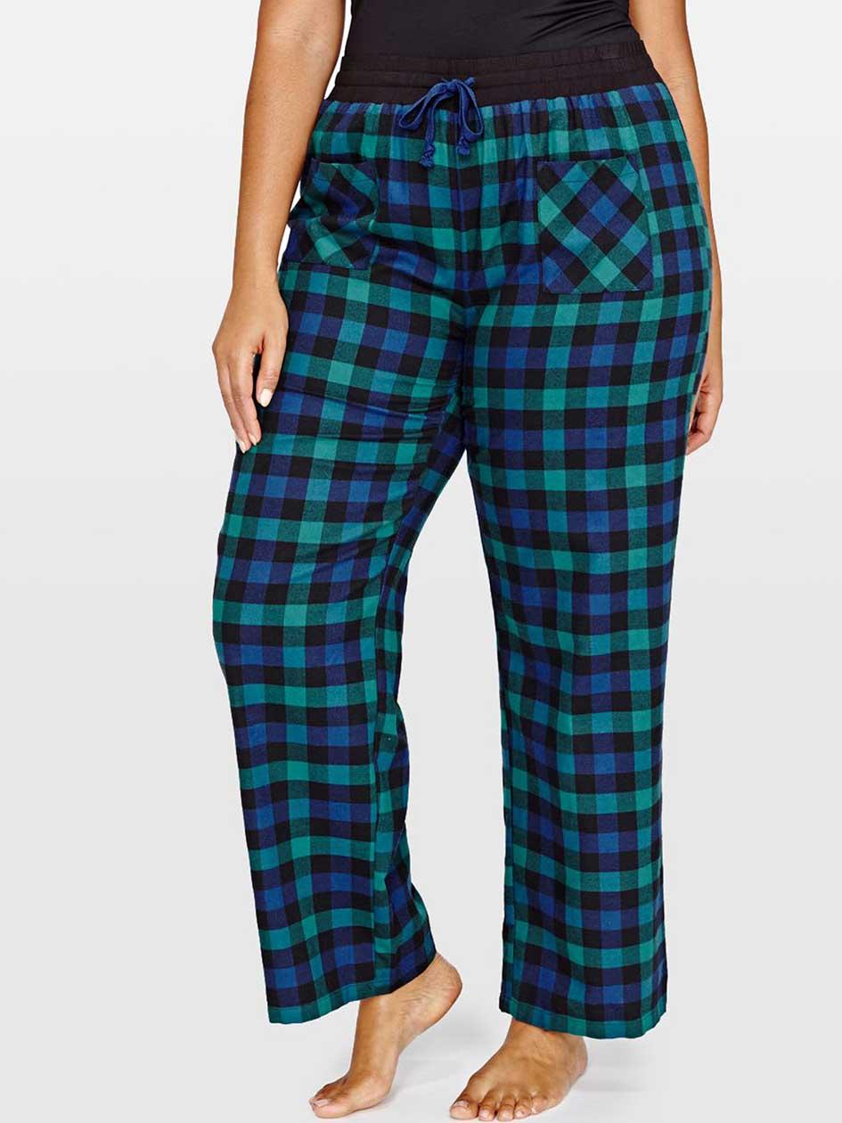 Déesse Flannel Yard Plaid Pajama Pants