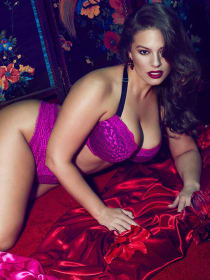 Soutien-gorge Corbeille virtuose à imprimé animal Ashley Graham