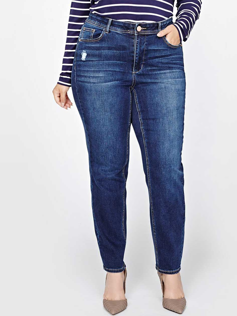 L&L Curvy Authentic Skinny Jeans