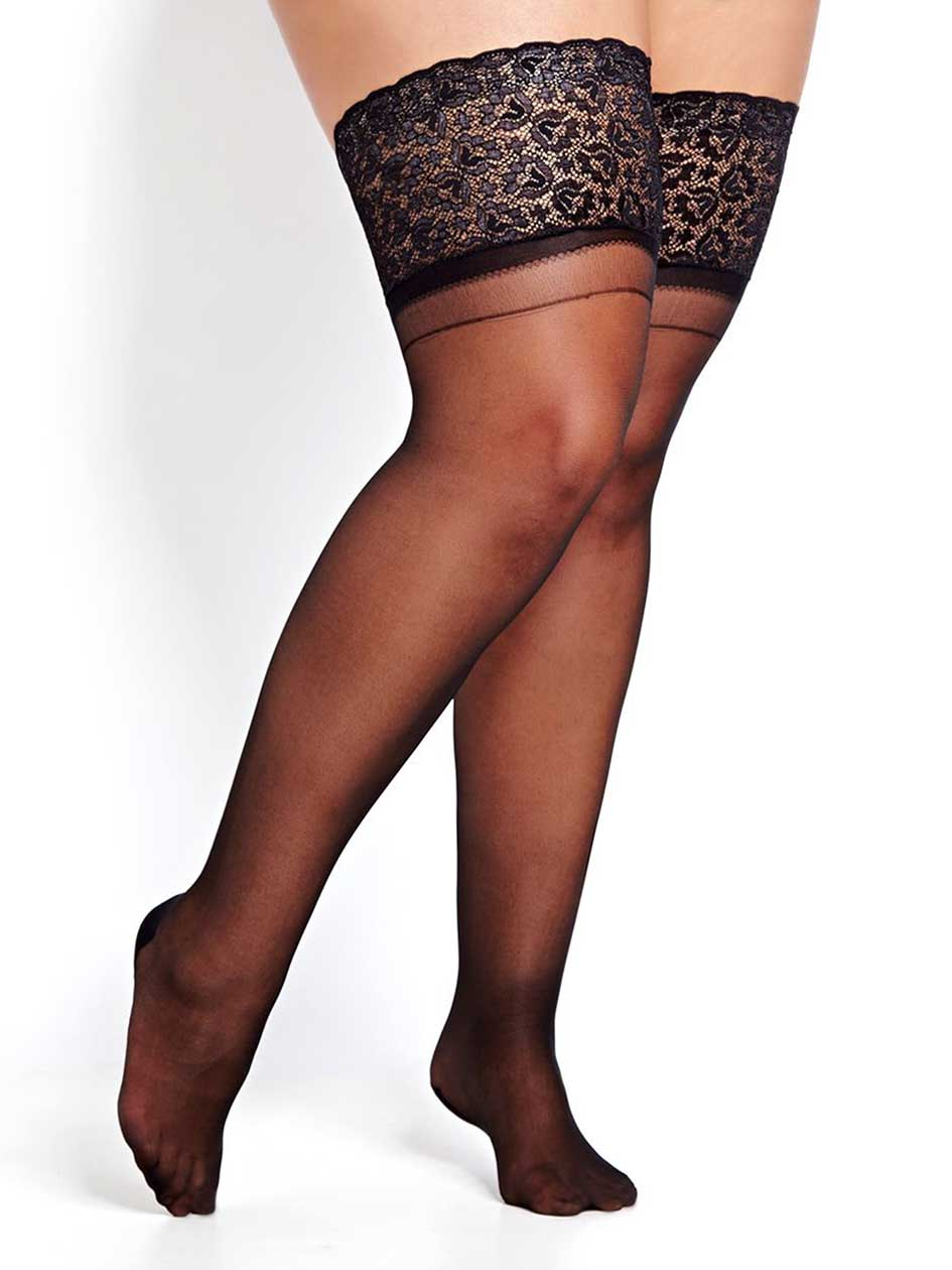 1950s Stockings and Nylons History & Shopping Guide Backseam Stay Up $20.00 AT vintagedancer.com
