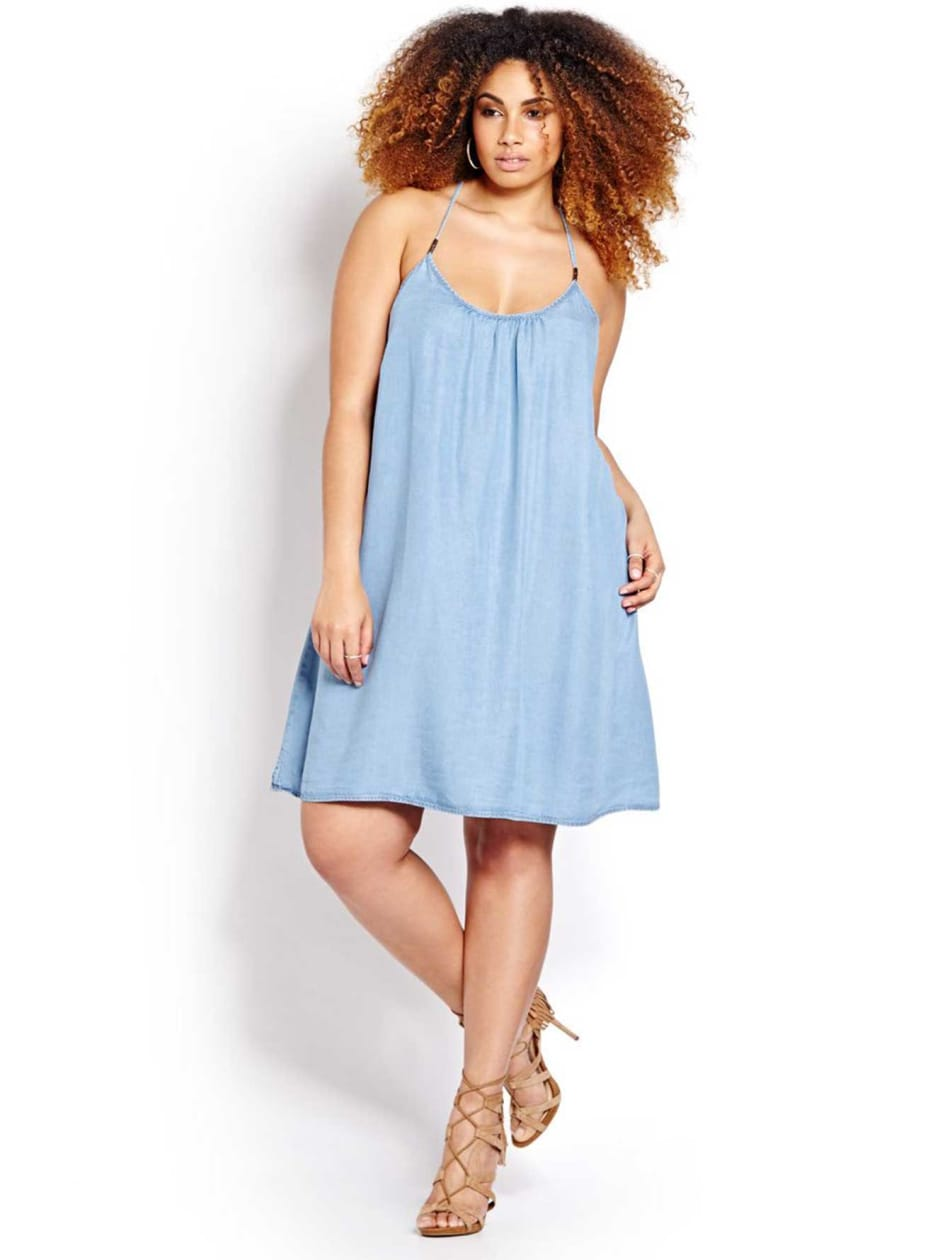 L&L Tencel Slip Dress