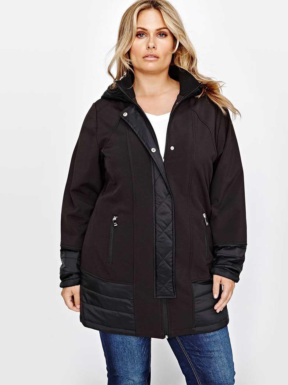 L&L Mix Media Softshell Jacket