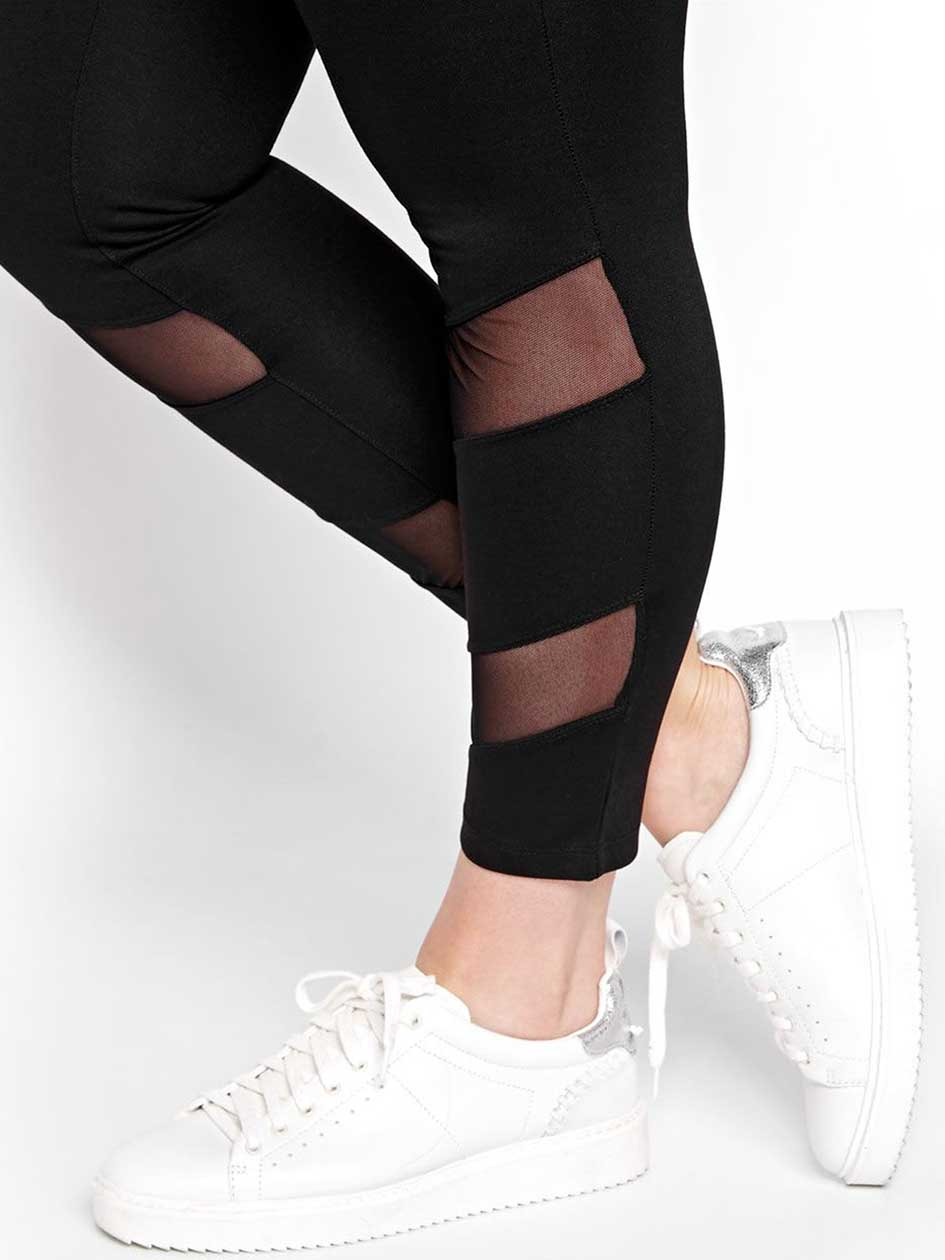 Legging with Mesh Details