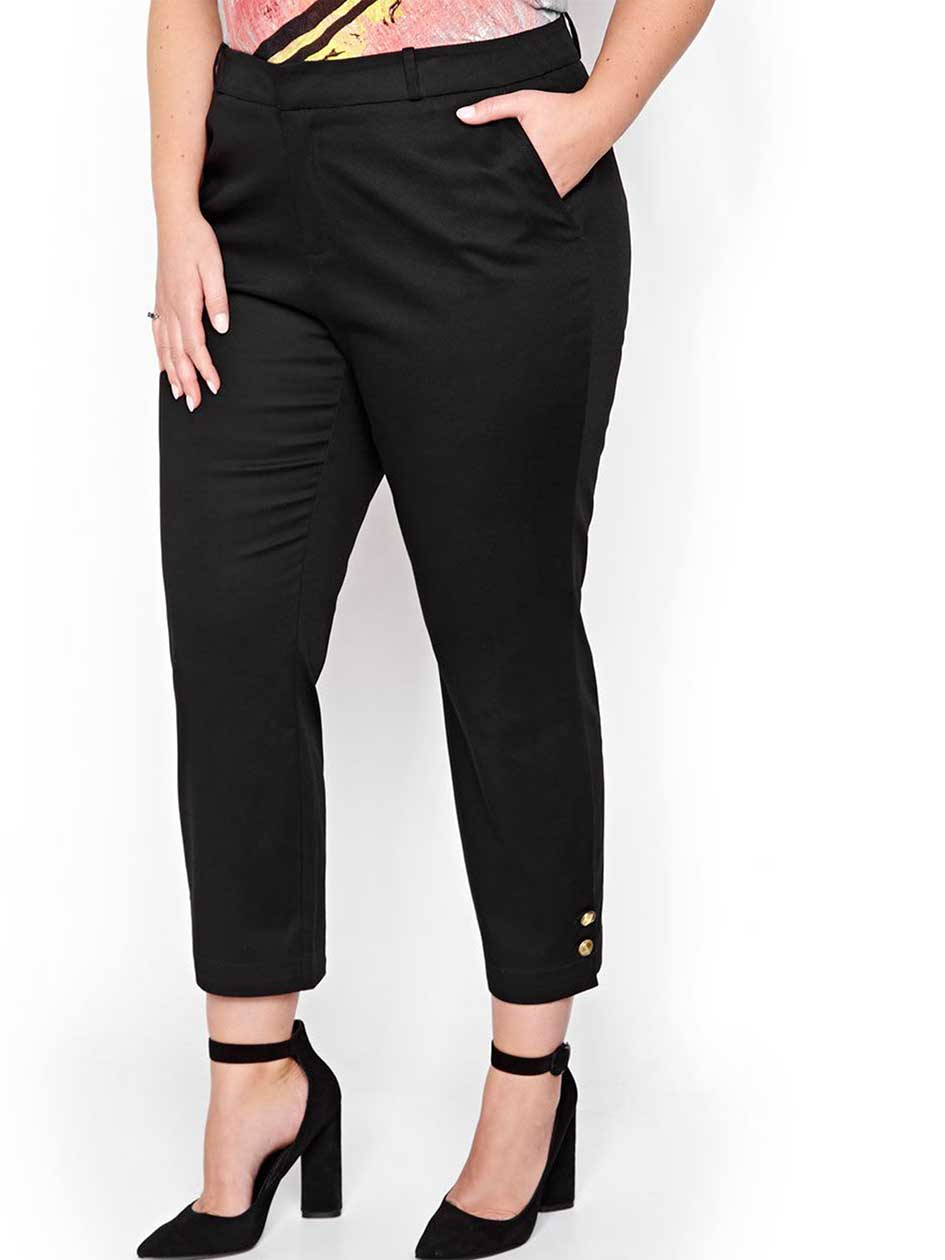 Rachel Roy Skinny Pant with Button Hem