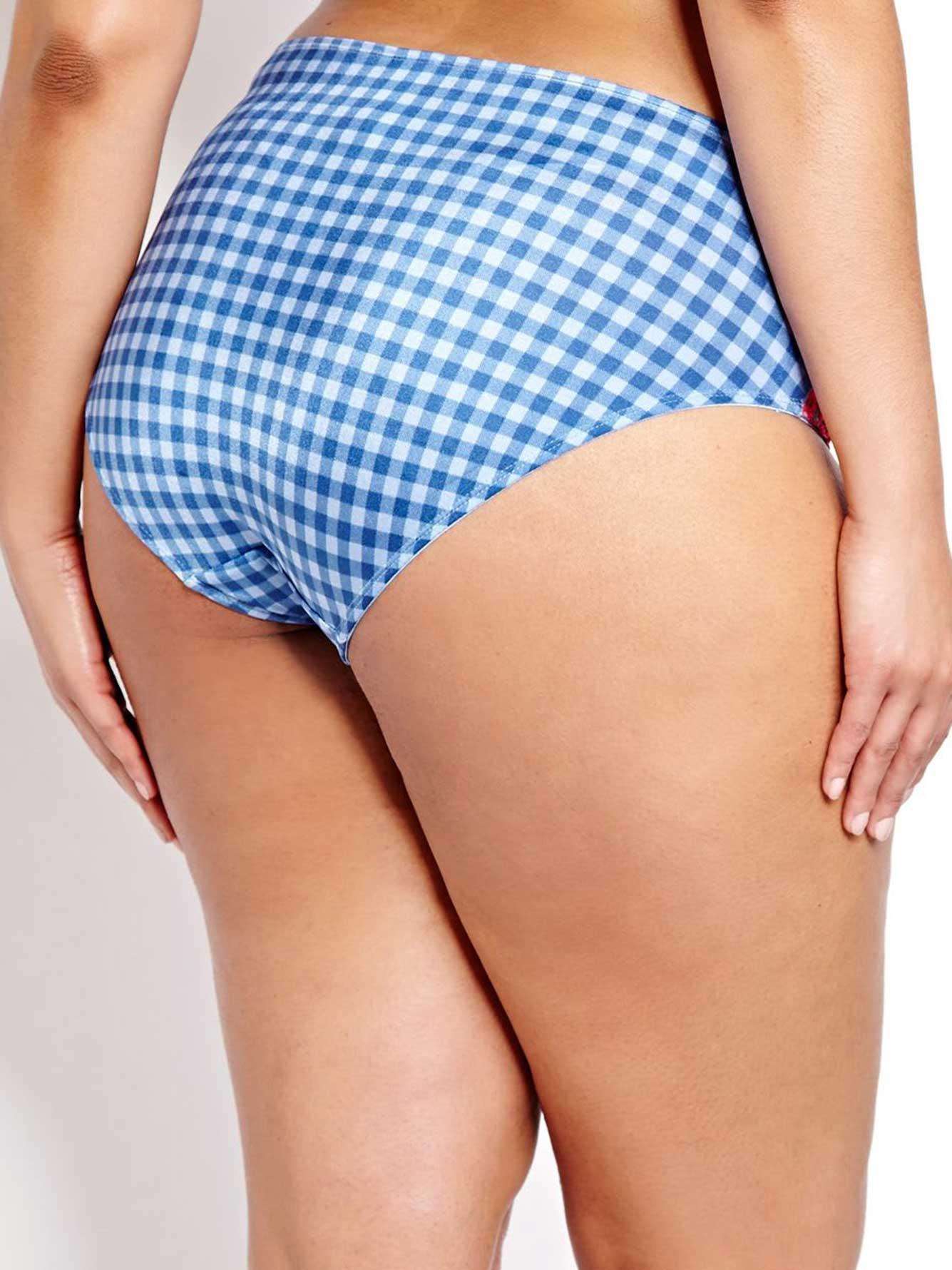 High Cut Lace Panties 91