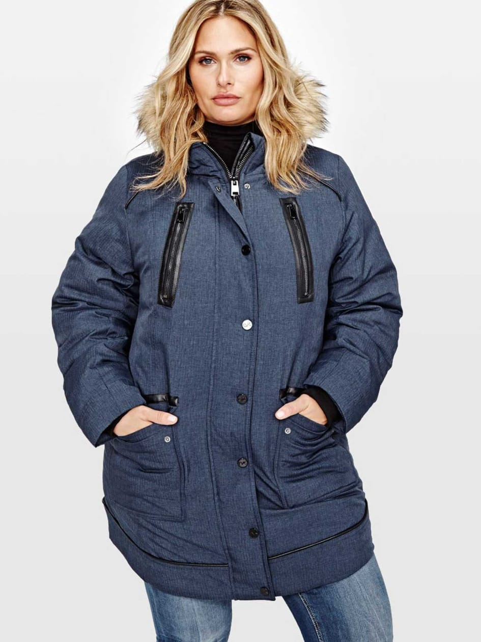 Livik Textured Parka Jacket