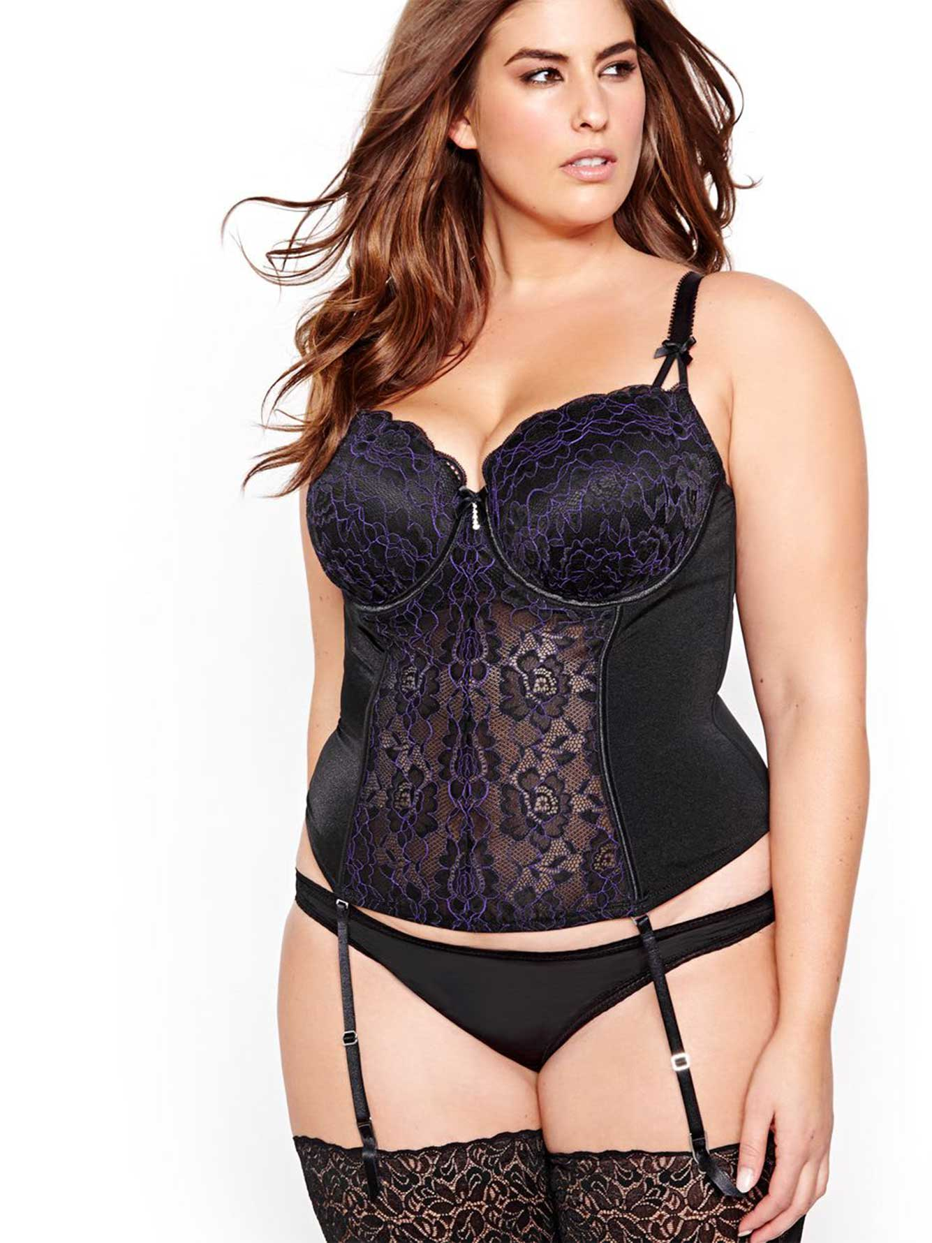 Bustier. Whether you're looking for strapless support, slimming shapewear or a bit of both, there's bound to be a bustier that's just right for you. With innovative designs that utilize seamless construction and push-up padding for maximum comfort, you're sure to find a design that suits your lingerie needs. Seamless Shape.