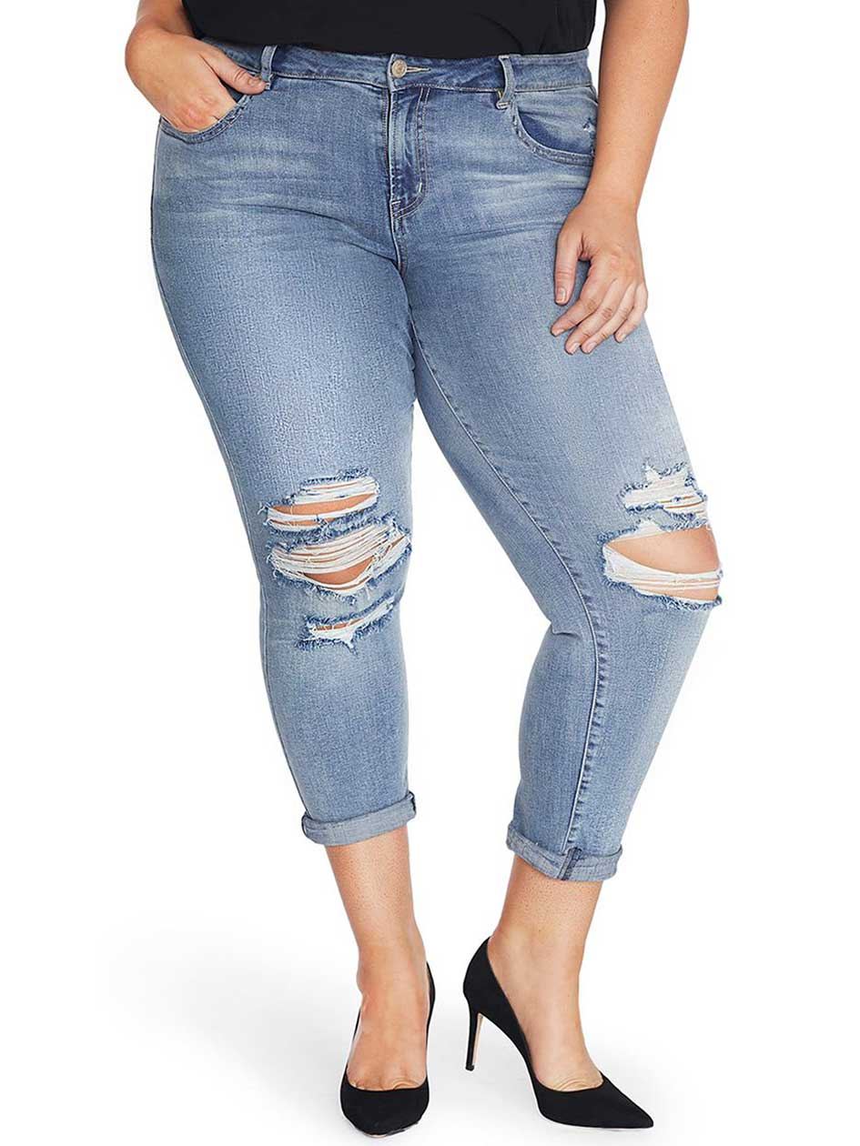 Rebel Wilson The Ryot Vintage Boyfriend Jean