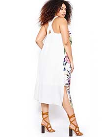 Rachel Roy Printed Maxi Dress