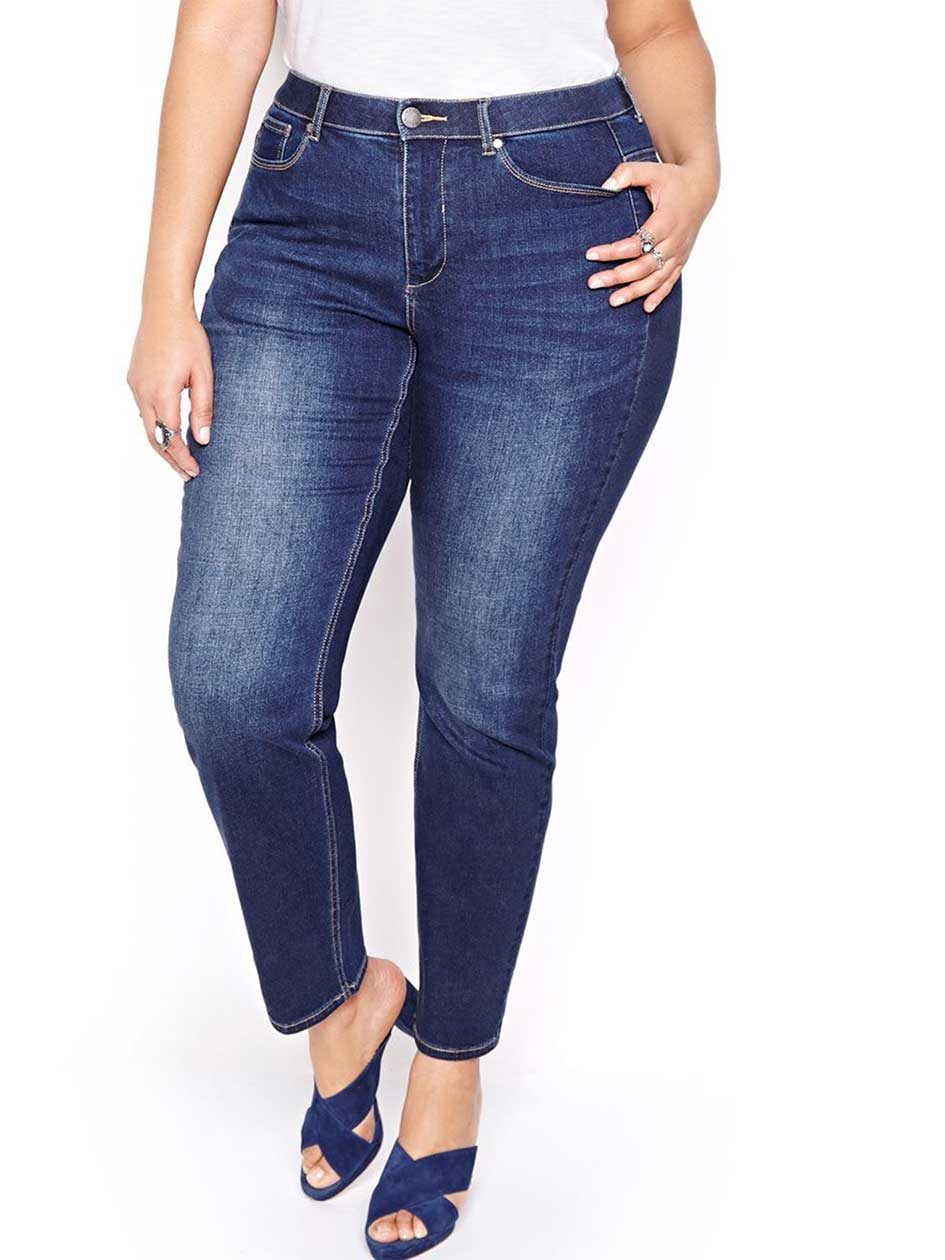L&L Curvy Slim Sculpting Jeans