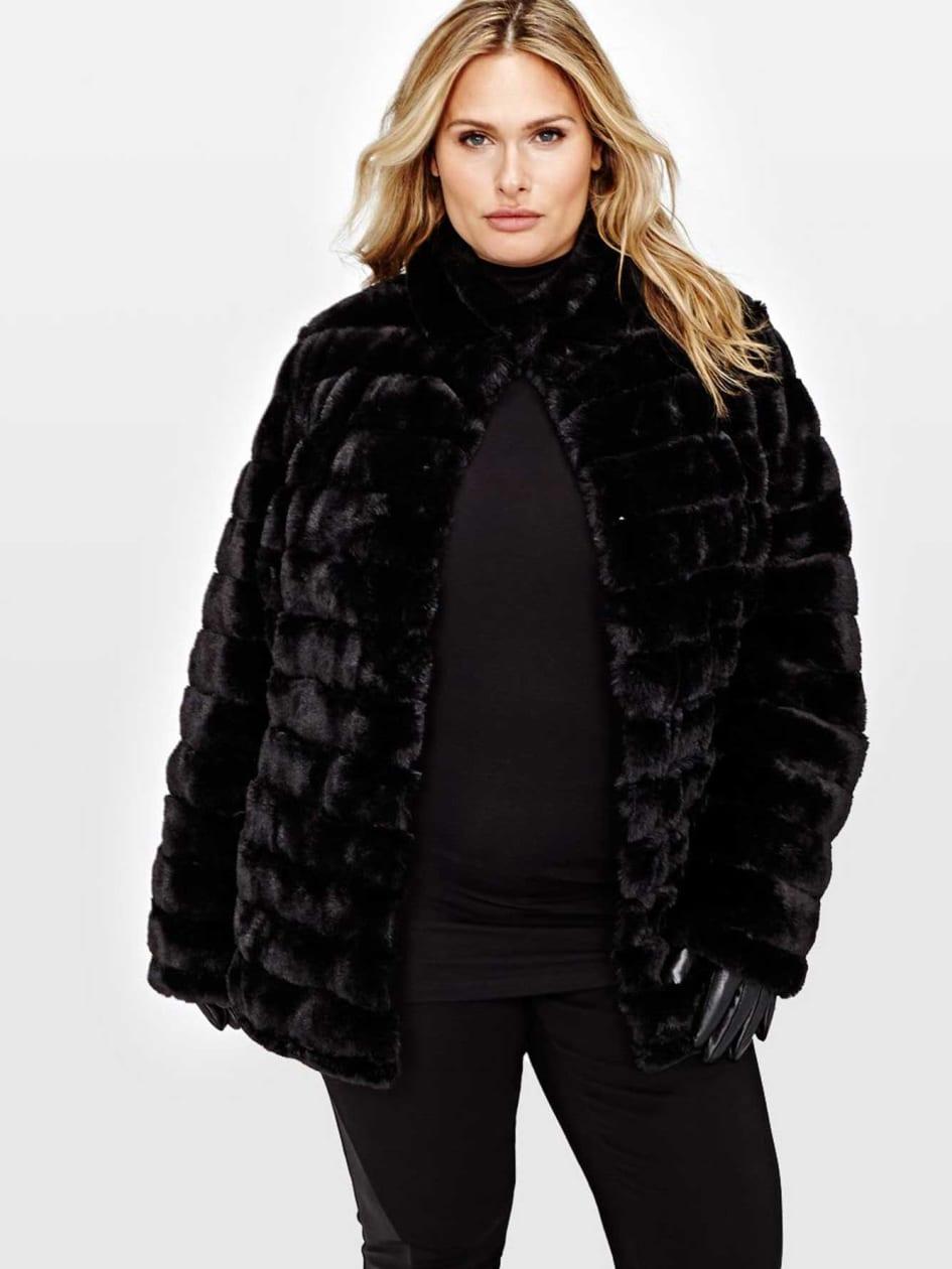 L&L Reversible Faux Fur Jacket