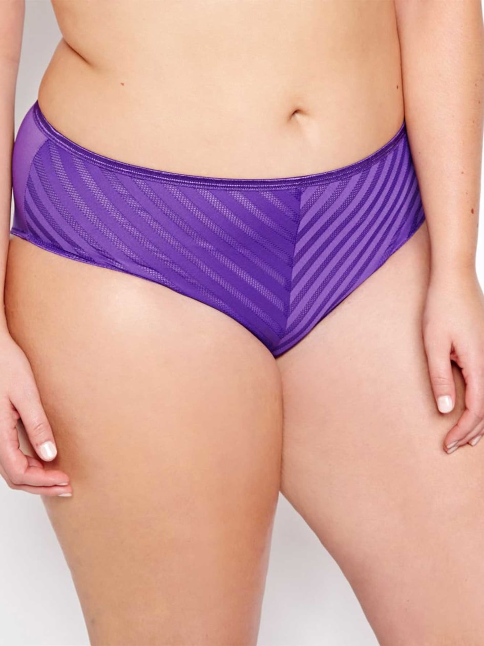 Sheer Desire Panty - Déesse Collection.purple.X