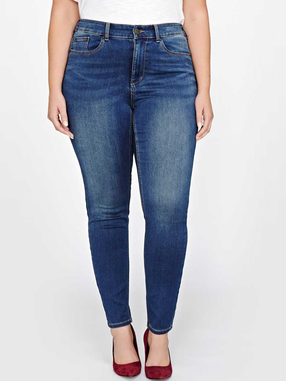 L&L Super Soft Medium Wash Jegging
