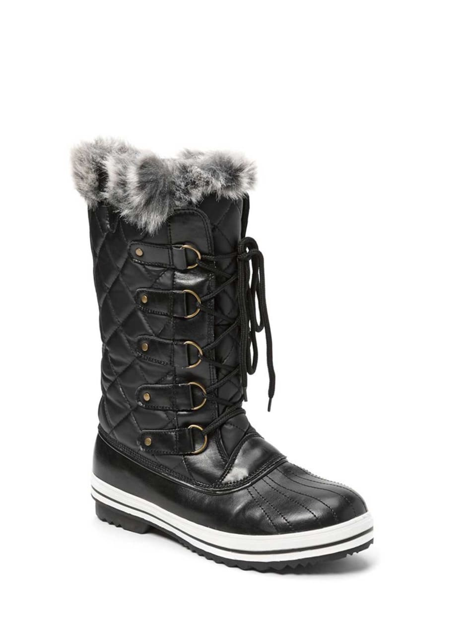 Livik Leslie Winter Faux Leather Boot