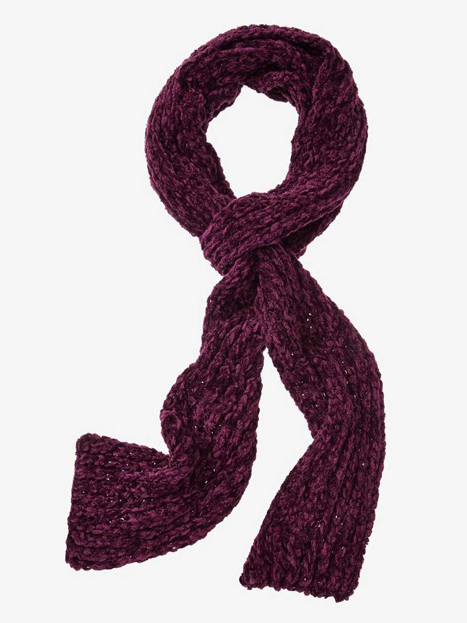 Chenille Long Scarf