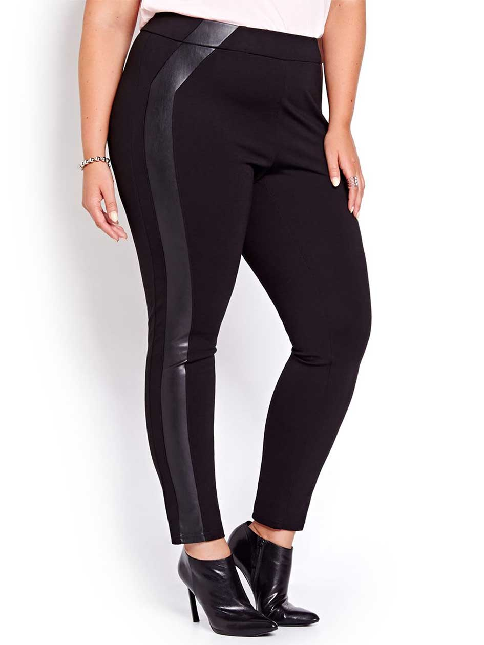 Michel Studio Taylor Legging with Pleather