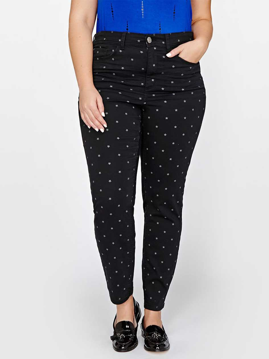 L&L Authentic Skinny Jean with Stars