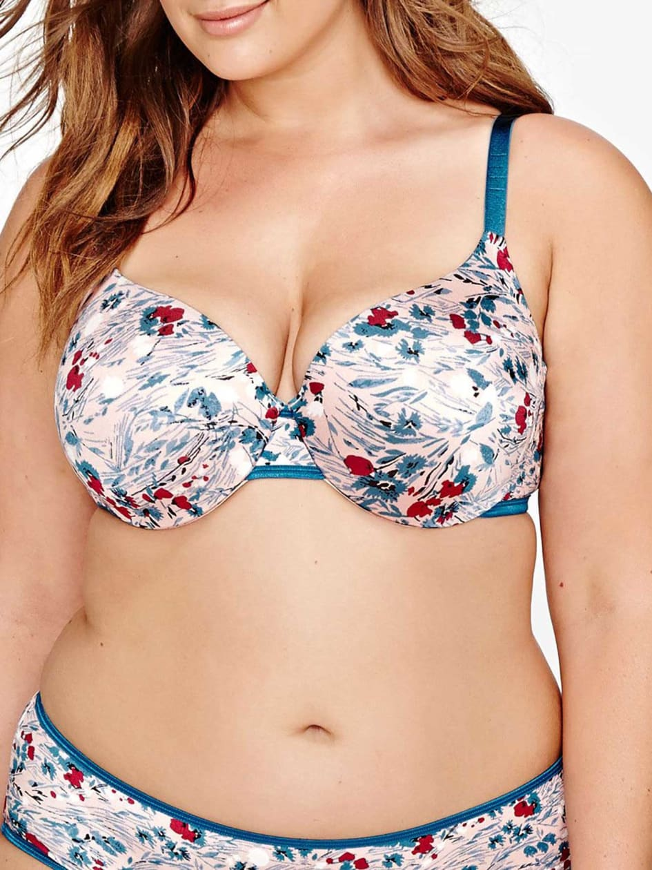 Printed Flawless T-ser Bra - Déesse Collection