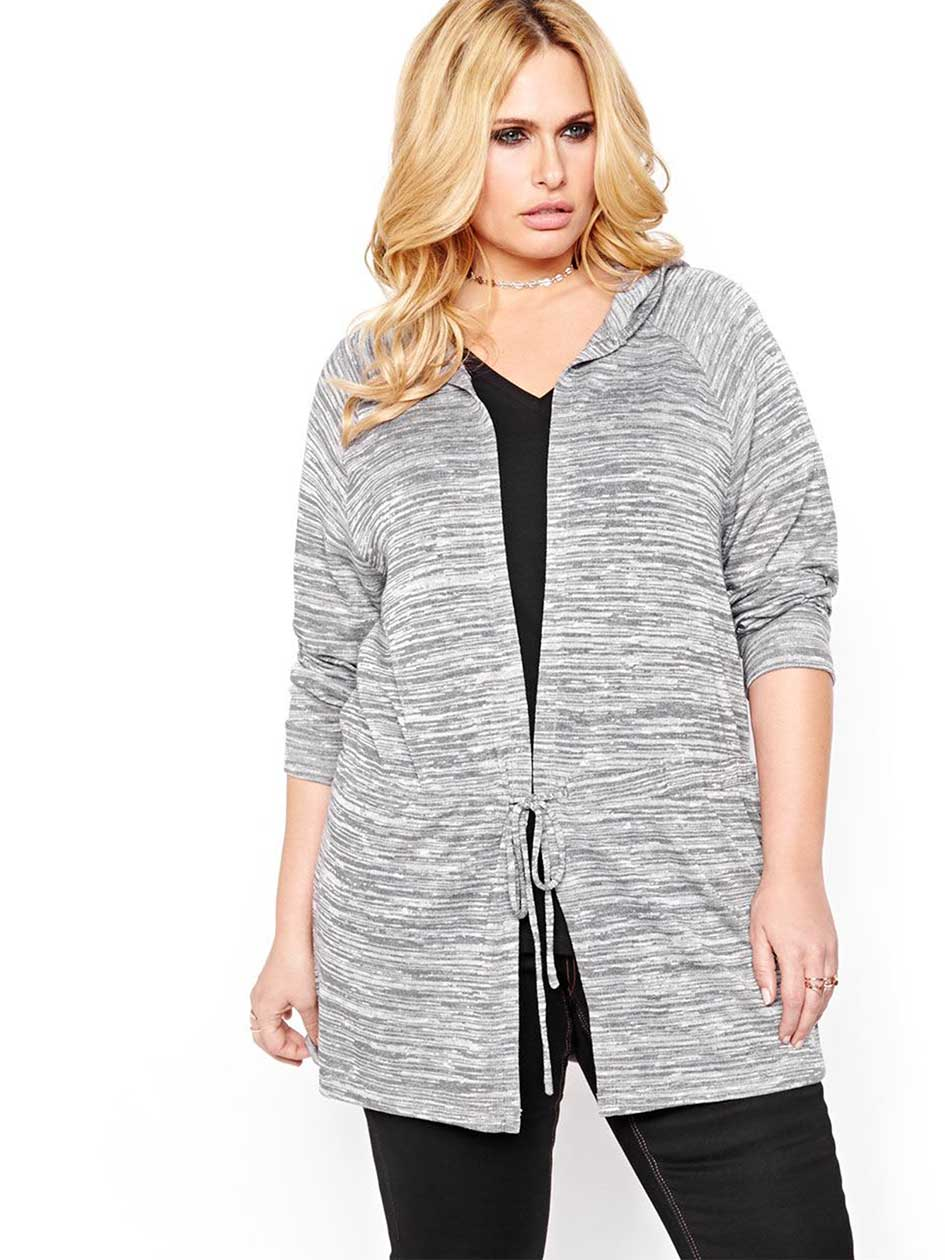 L&L Hooded Long Cardigan