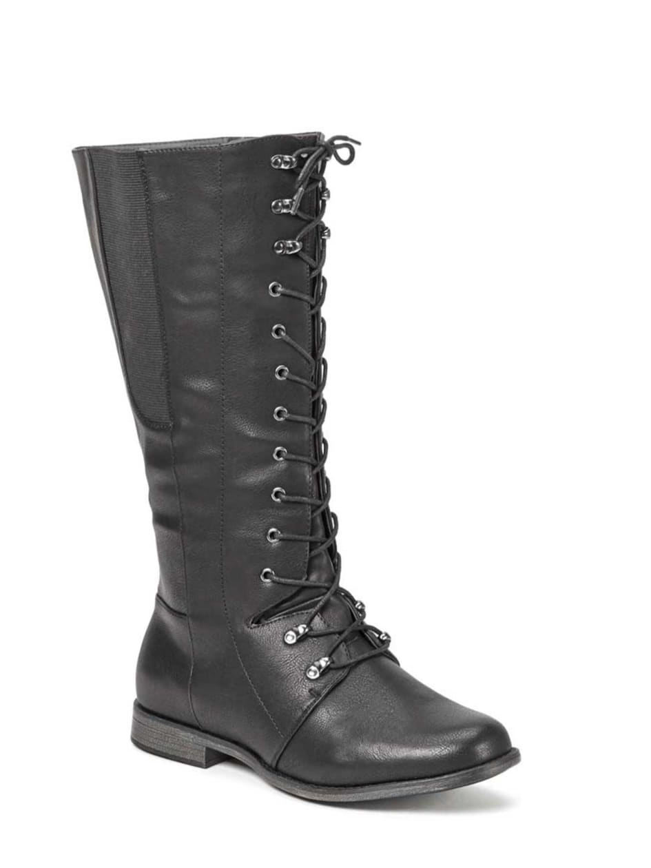 Kim Lace Front Boots