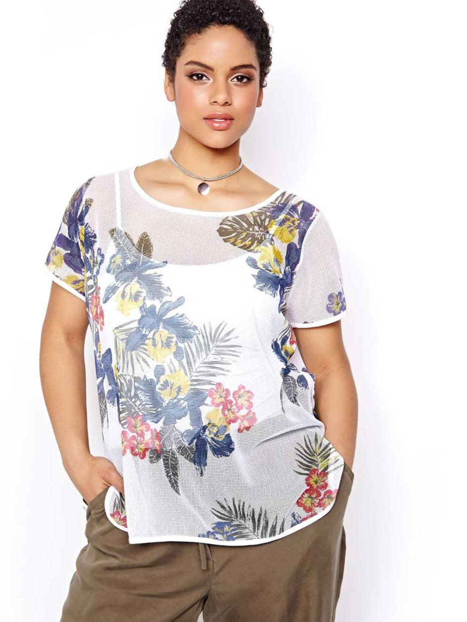 Michel Studio Short Sleeve Top