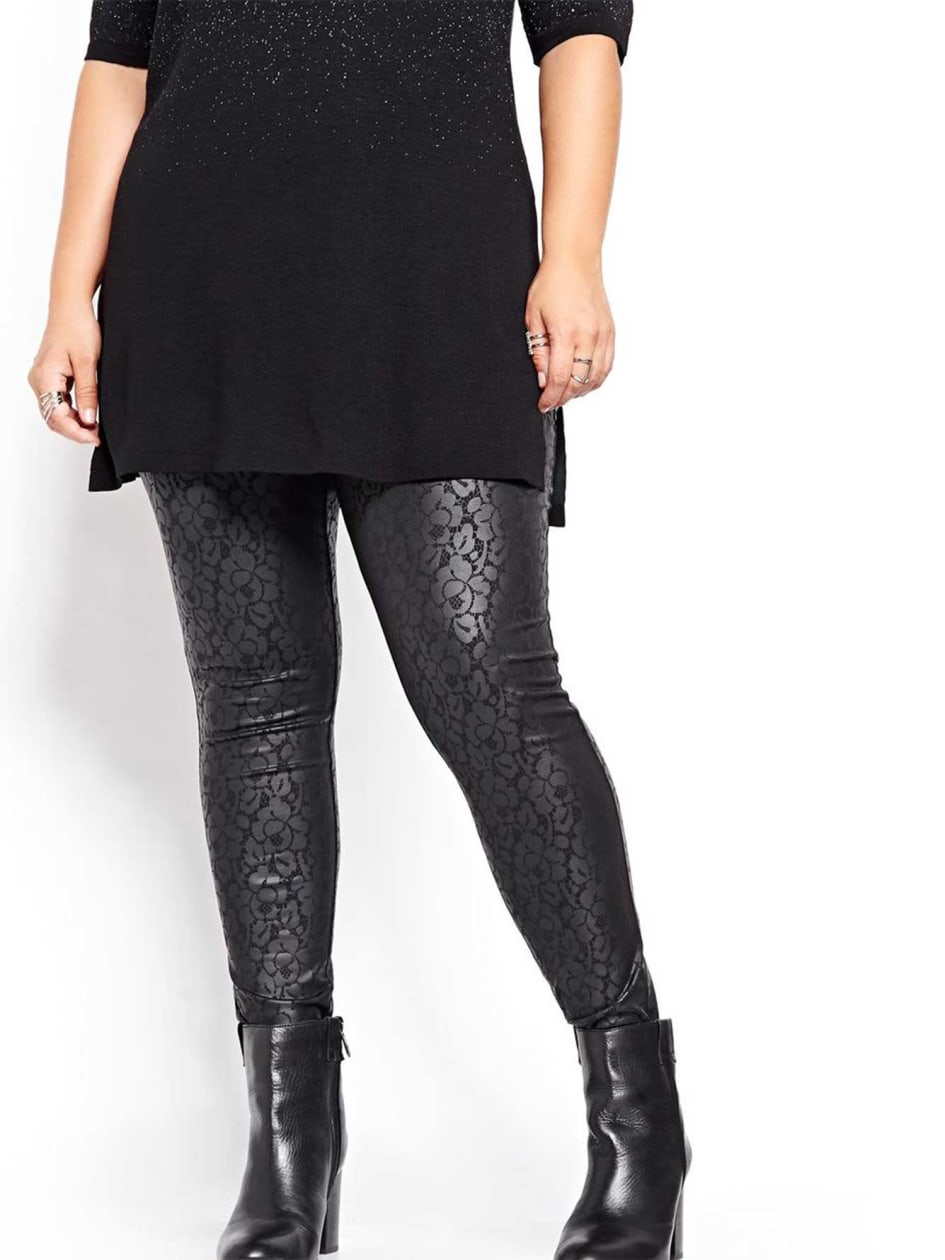 Lace Printed Legging