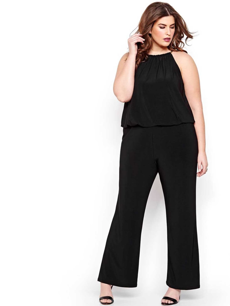Michel Studio Blouse Effect Jumpsuit