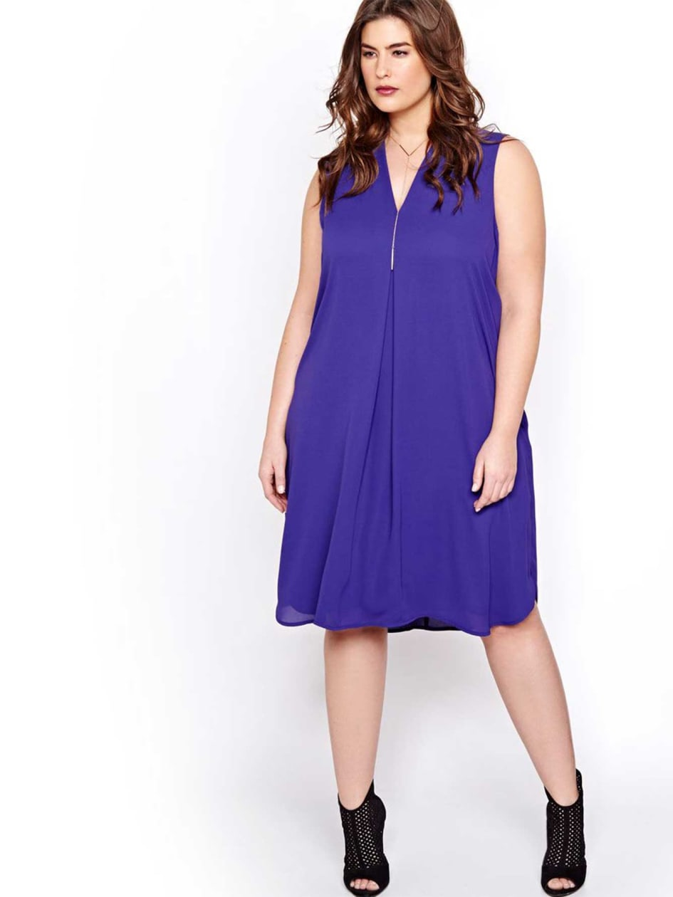 Michel Studio Sleeveless Tunic Dress