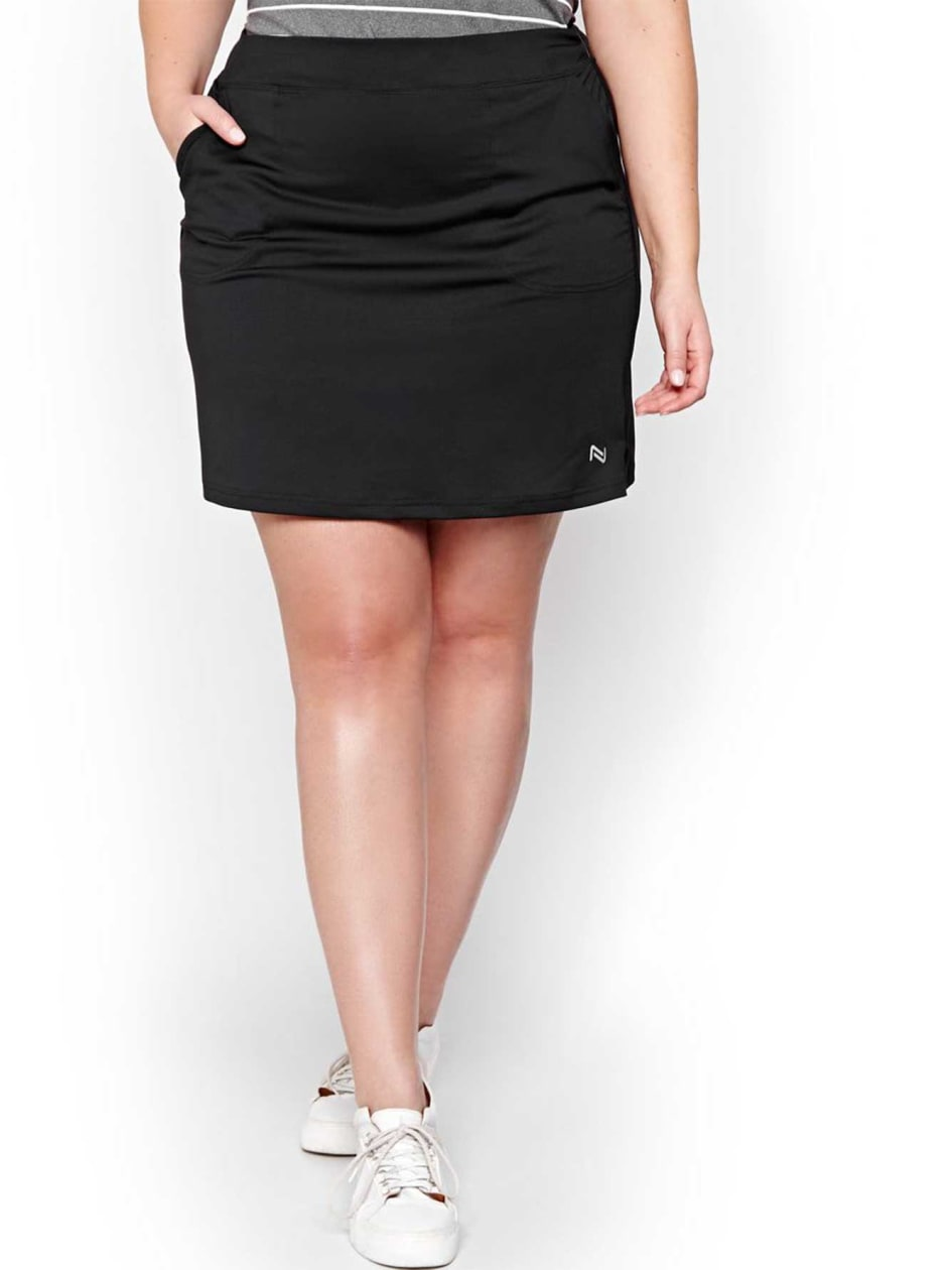 Nola Golf Black A-line Skort