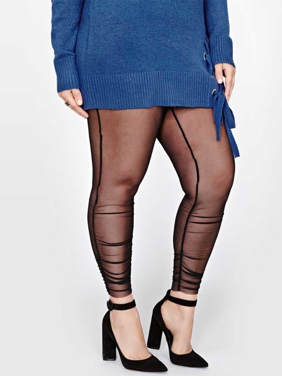 Mesh Legging