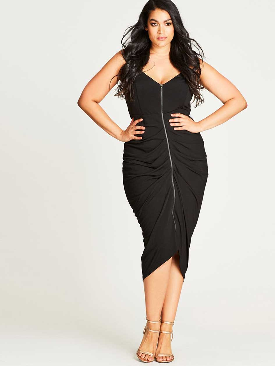 City Chic Sultry Vixen Dress
