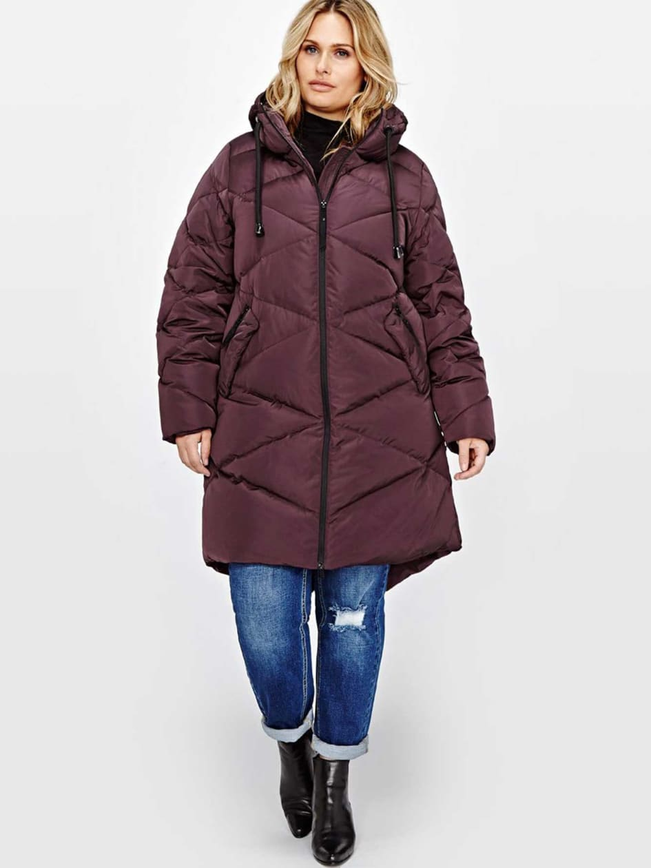 Livik Quilted Hooded Puffer Coat