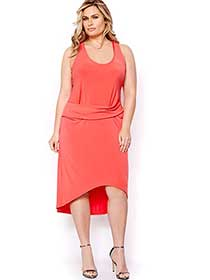 Rachel Roy Sleeveless High Low Dress