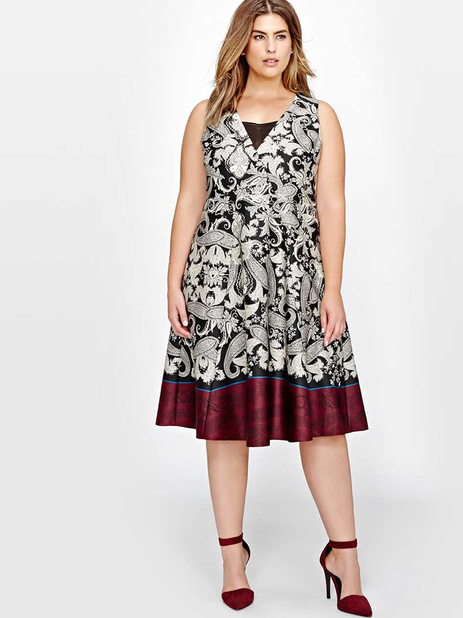 Rachel Roy Paisley Dress