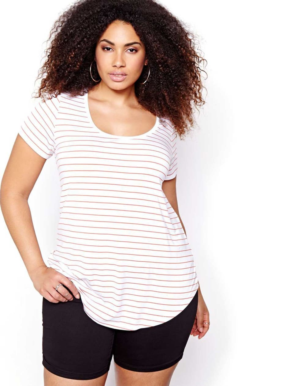 Michel Studio Striped Modern T-shirt
