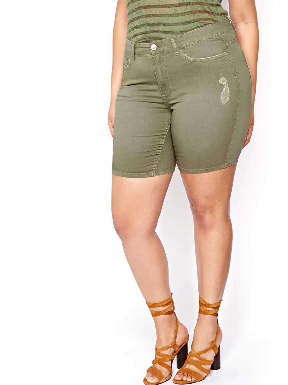 L&L Jegging Bermuda Jean Shorts