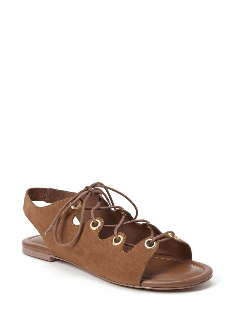 Martina Flat Lace-up Sandal