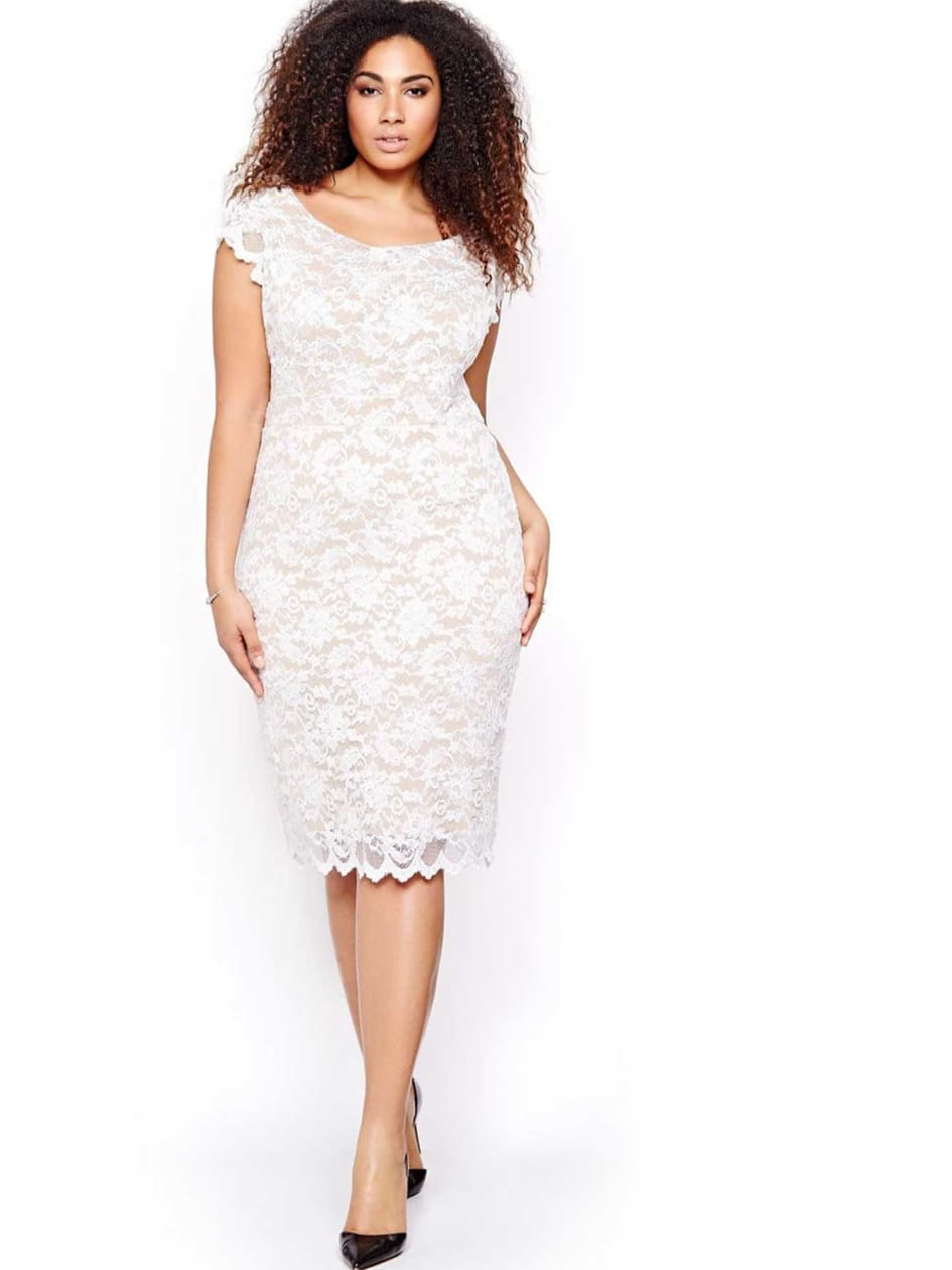 ABS Bodycon Lace Dress