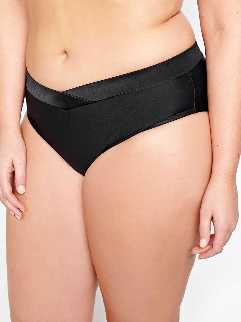 Cactus Criss Cross Bikini Bottom.black.4X