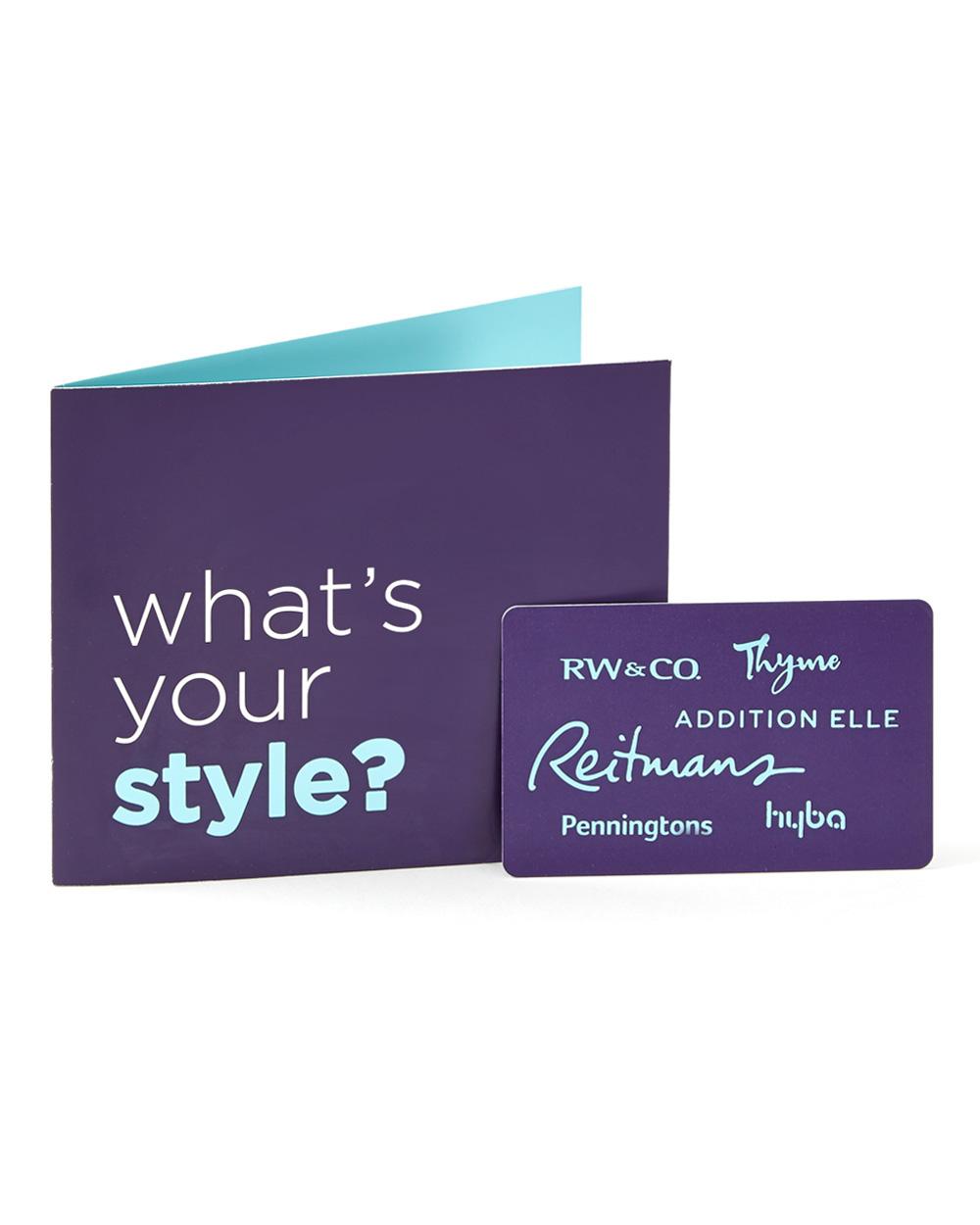 Reitmans Canada Gift Card