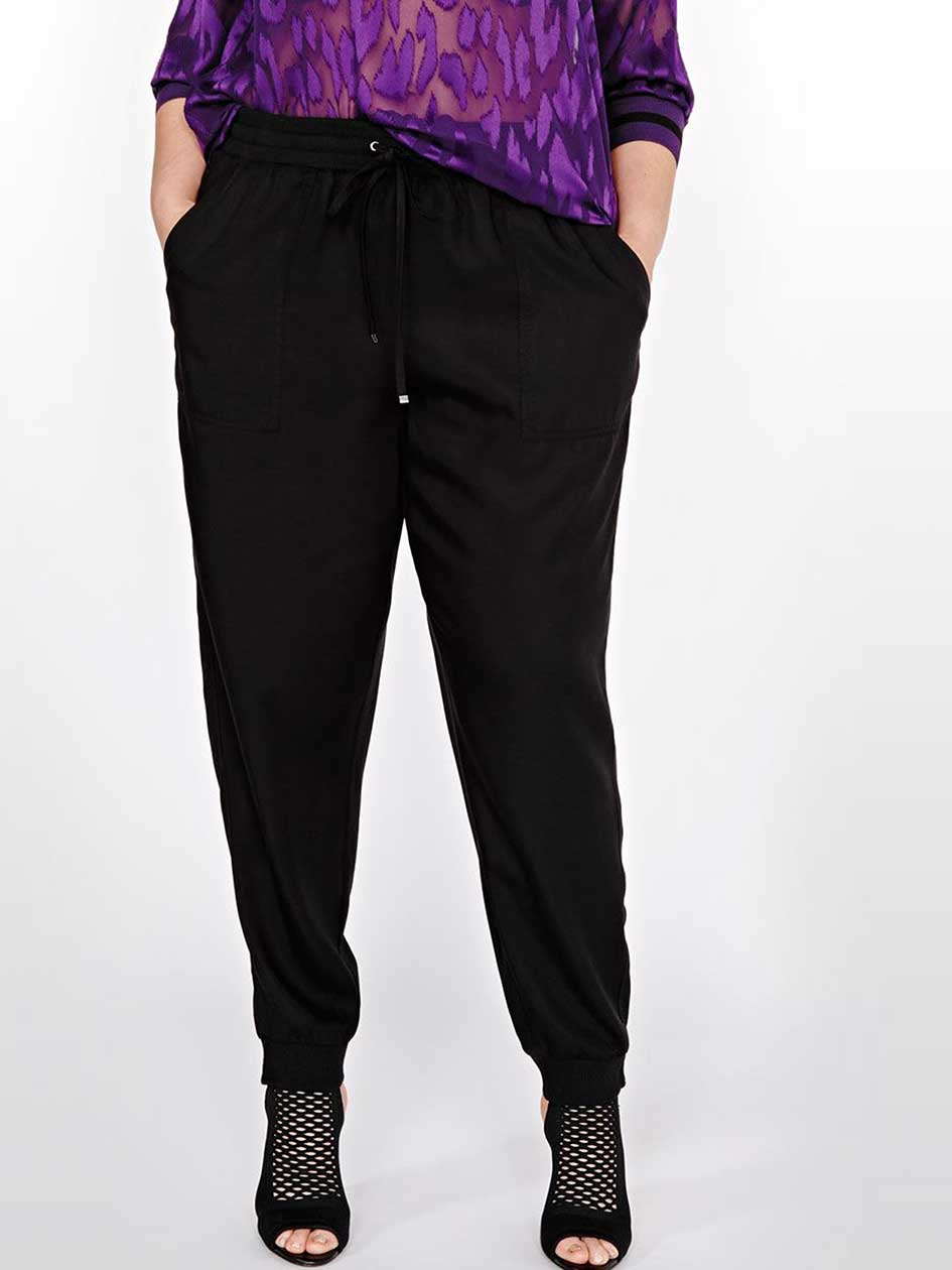 L&L Tapered Pant with Ribbed Cuff