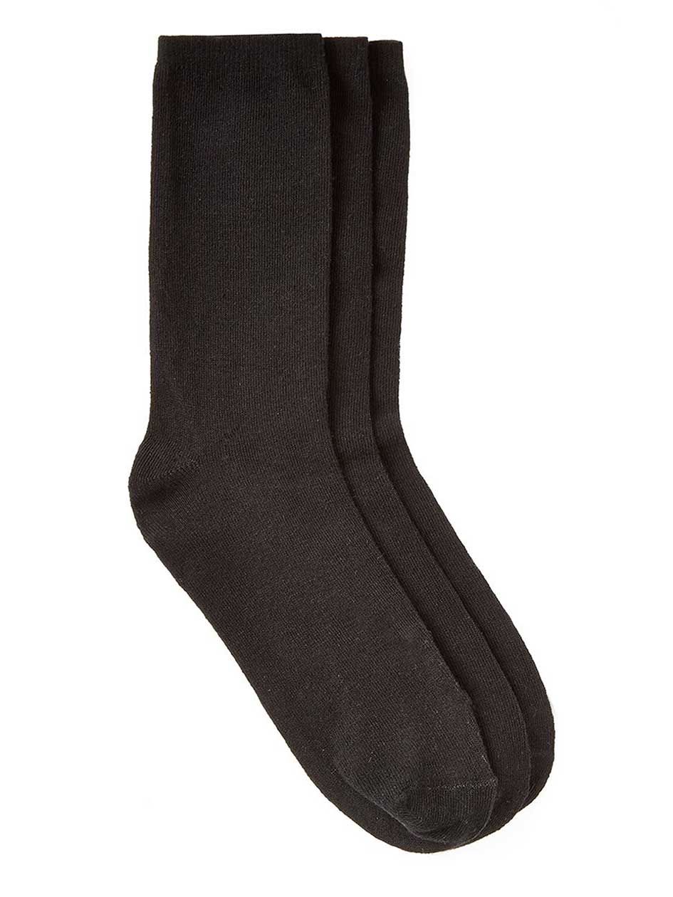 3-pair basic socks