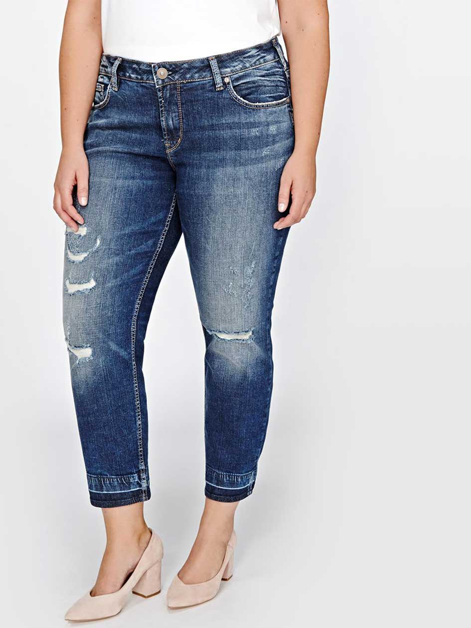 Silver Sam Boyfriend Denim